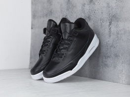 Кроссовки Nike Air Jordan 3 цвет черный