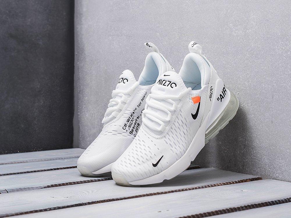 Кроссовки Nike Air Max 270 цвет Белый купить по цене 3390 рублей в интернет-магазине outmaxshop.ru с доставкой ☑️