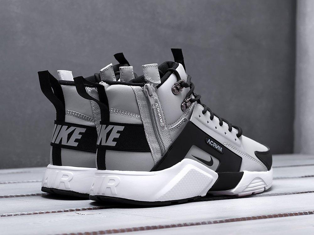 Кроссовки ACRONYM x Nike Air Huarache цвет Серый