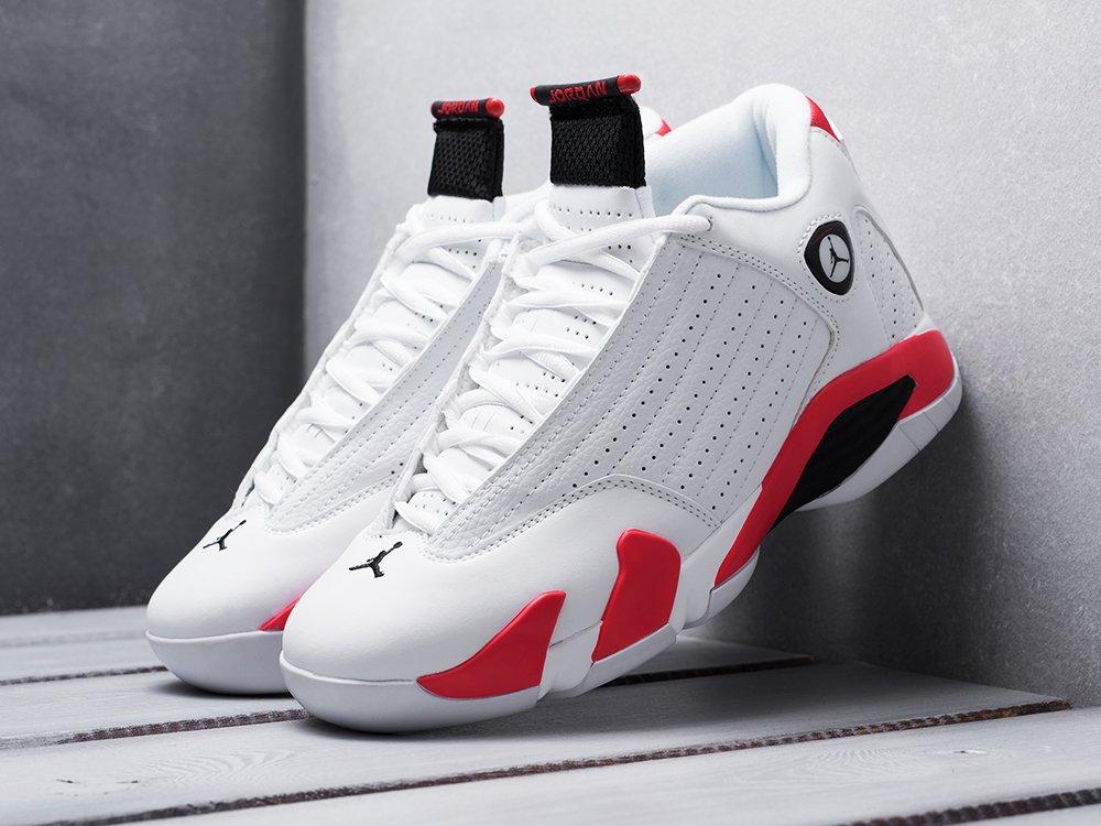 Кроссовки Nike Air Jordan 14 цвет Белый купить по цене 3690 рублей в интернет-магазине outmaxshop.ru с доставкой ☑️