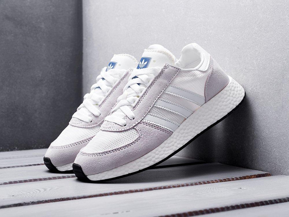 Кроссовки Adidas Marathon Tech цвет Серый купить по цене 3390 рублей в интернет-магазине outmaxshop.ru с доставкой ☑️