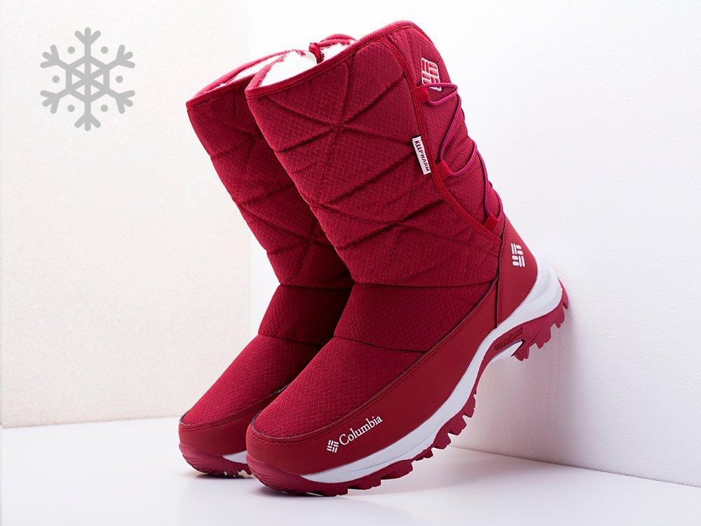 Сапоги Columbia цвет Красный купить по цене 1370 рублей в интернет-магазине outmaxshop.ru с доставкой ☑️