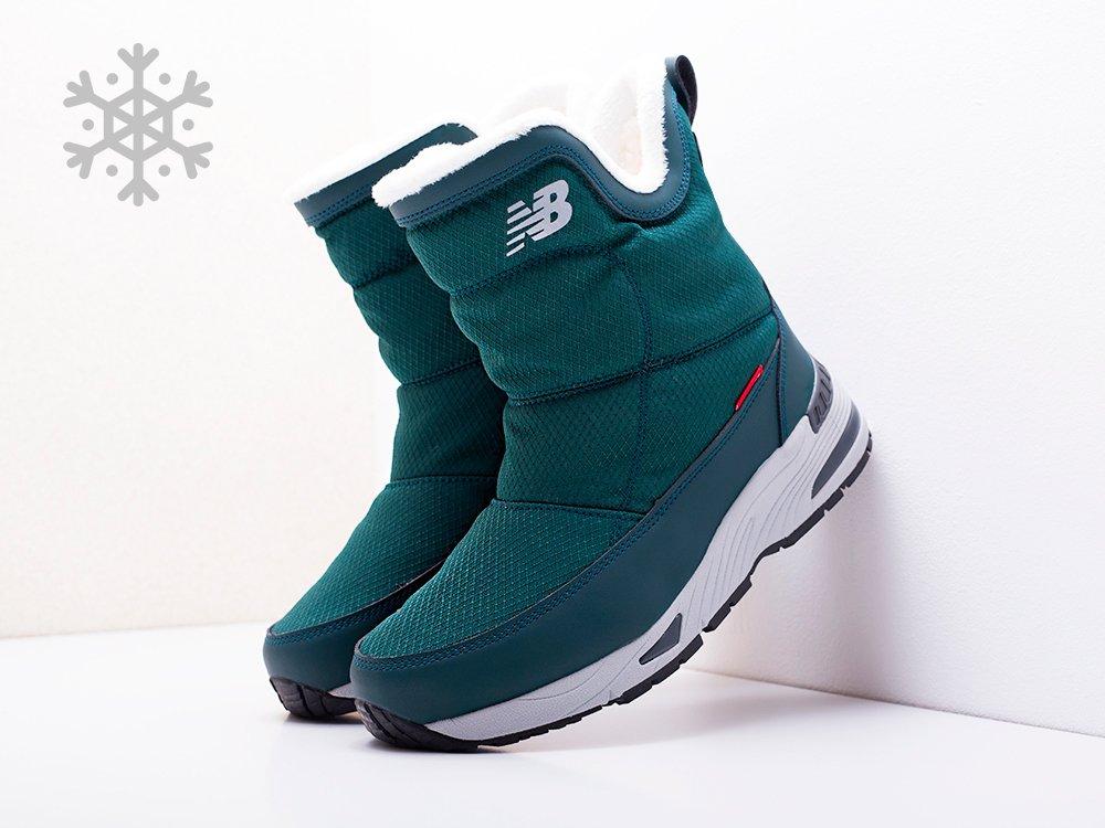 Сапоги New Balance цвет Зеленый купить по цене 3390 рублей в интернет-магазине outmaxshop.ru с доставкой ☑️