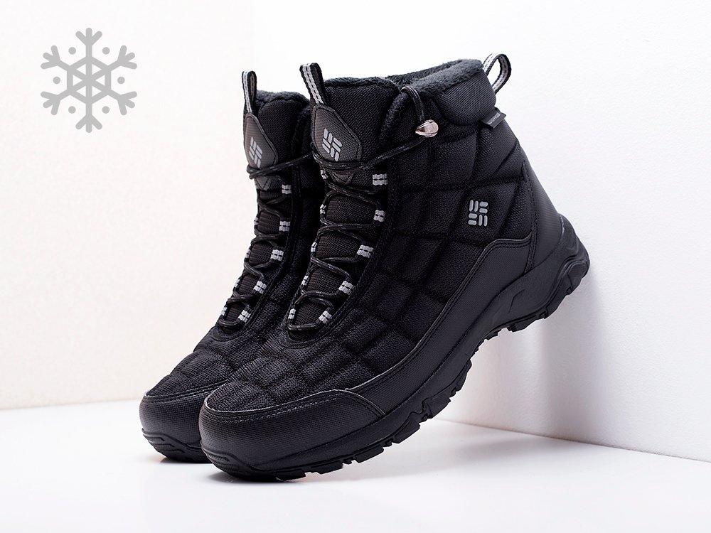 Ботинки Columbia цвет Черный купить по цене 3390 рублей в интернет-магазине outmaxshop.ru с доставкой ☑️