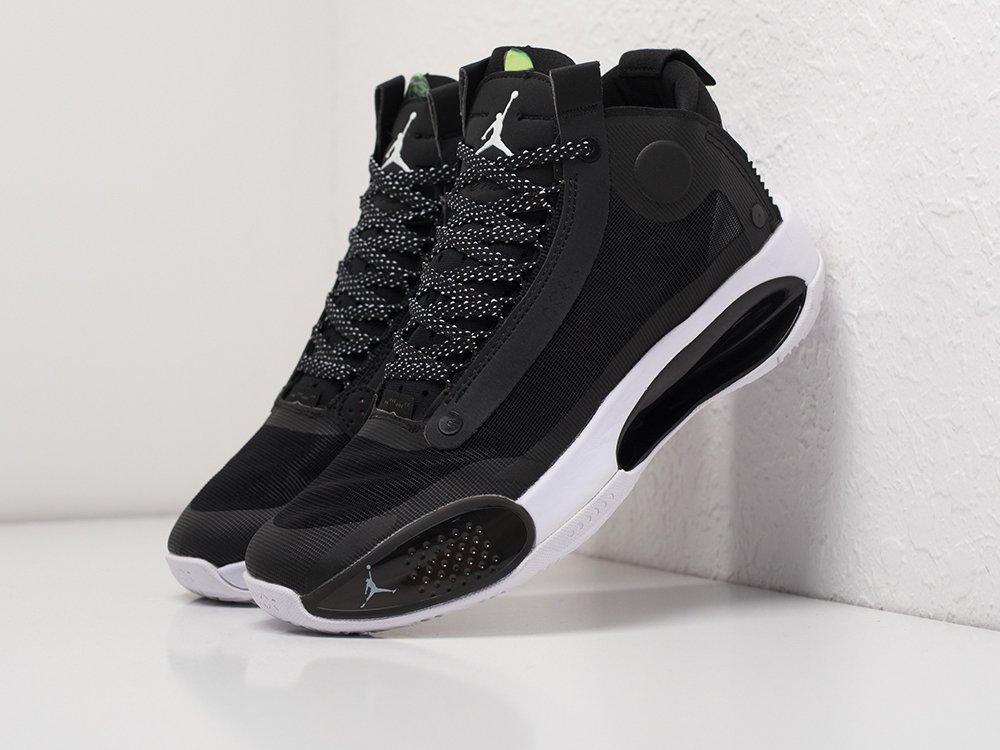 Кроссовки Nike Air Jordan XXXIV цвет Черный купить по цене 3990 рублей в интернет-магазине outmaxshop.ru с доставкой ☑️
