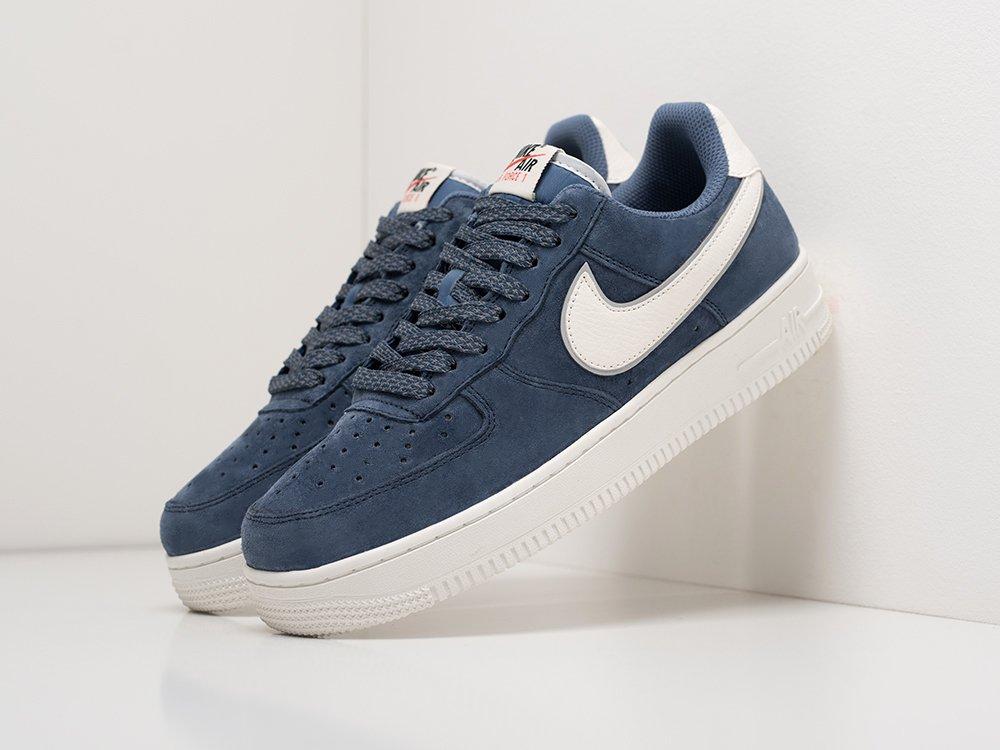 Кроссовки Nike Air Force 1 Low цвет Синий купить по цене 3890 рублей в интернет-магазине outmaxshop.ru с доставкой ☑️