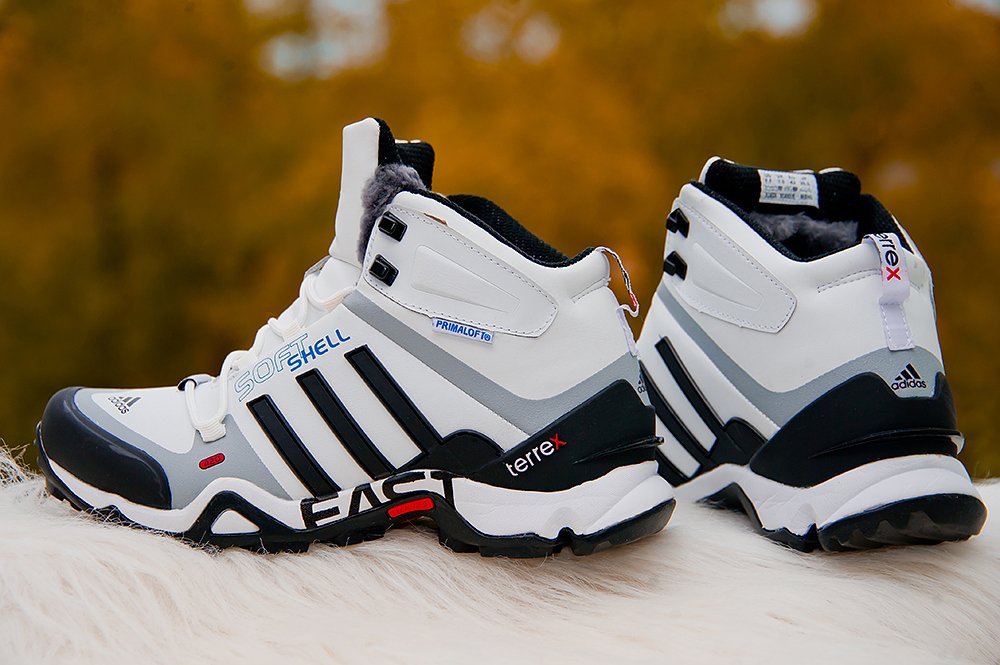 332b8467 Ботинки Adidas Terrex Winter цвет Белый купить по цене 3990 рублей в ...
