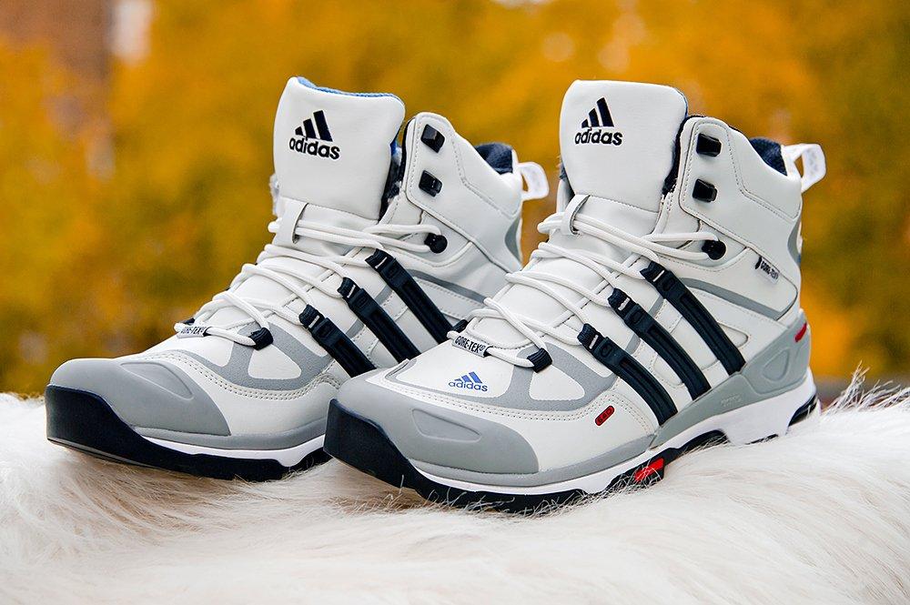 ef1b7c1f Ботинки Adidas Terrex Winter цвет Белый купить по цене 3990 рублей в  интернет-магазине outmaxshop.ru с доставкой ☑️