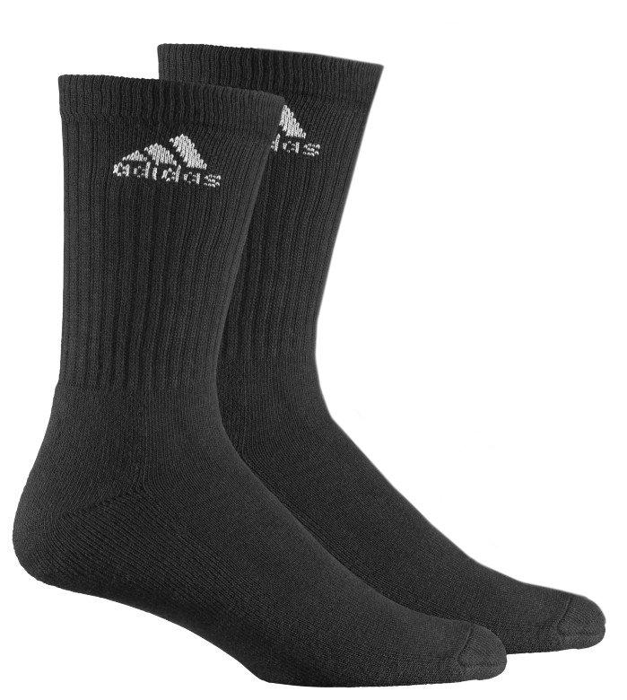 d8342ea17f600 Носки длинные Adidas цвет Черный купить по цене 120 рублей в ...
