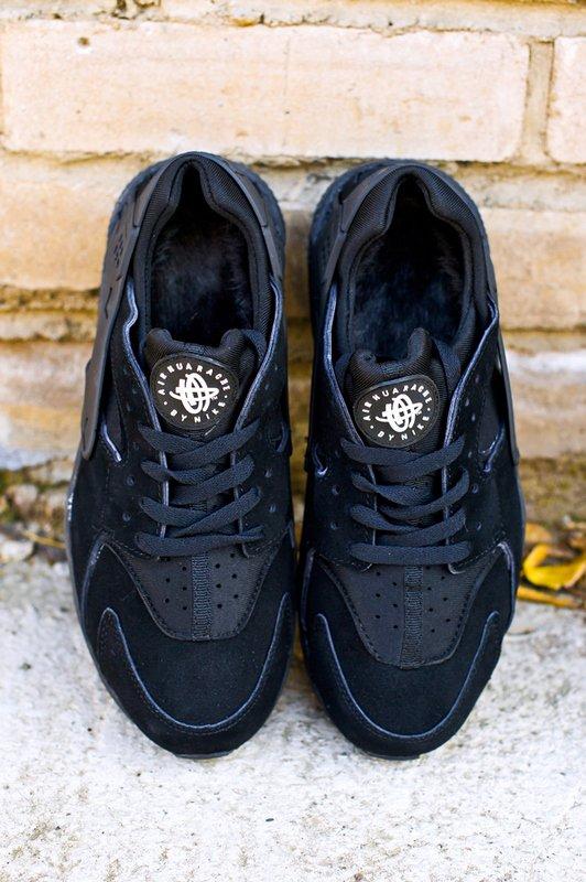 edd9c8cf Кроссовки Nike Air Huarache цвет Черный купить по цене 1990 рублей в  интернет-магазине outmaxshop.ru с доставкой ☑️