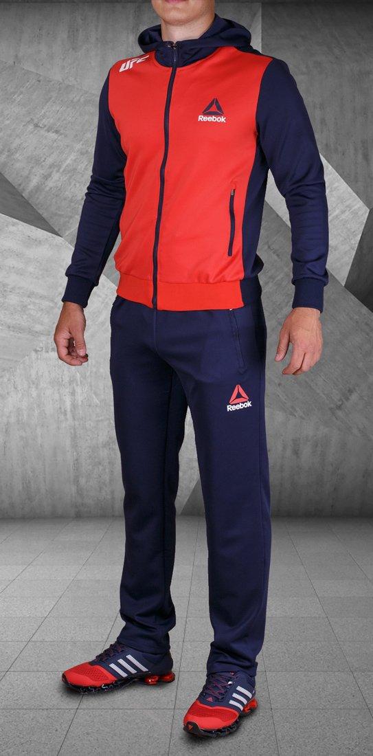 fd74196d Спортивный костюм Reebok цвет Красный купить по цене 1090 рублей в  интернет-магазине outmaxshop.ru с доставкой ☑️