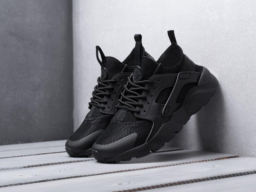 Кроссовки Nike Air Huarache Ultra цвет черный купить по цене 3190 рублей в интернет-магазине outmaxshop.ru с доставкой ☑️