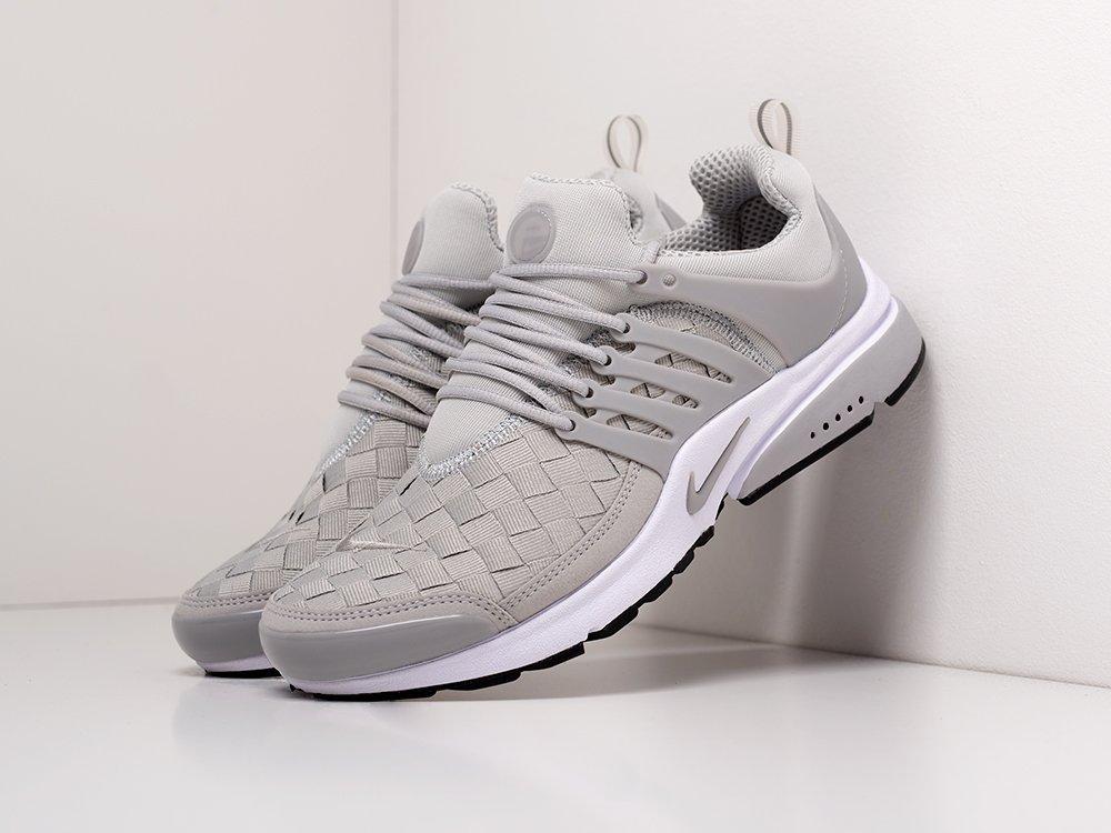 Кроссовки Nike Air Presto SE Woven цвет Серый купить по цене 2090 рублей в интернет-магазине outmaxshop.ru с доставкой ☑️