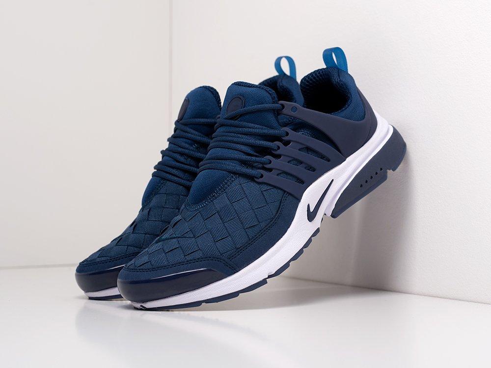 Кроссовки Nike Air Presto SE Woven цвет Синий купить по цене 1850 рублей в интернет-магазине outmaxshop.ru с доставкой ☑️
