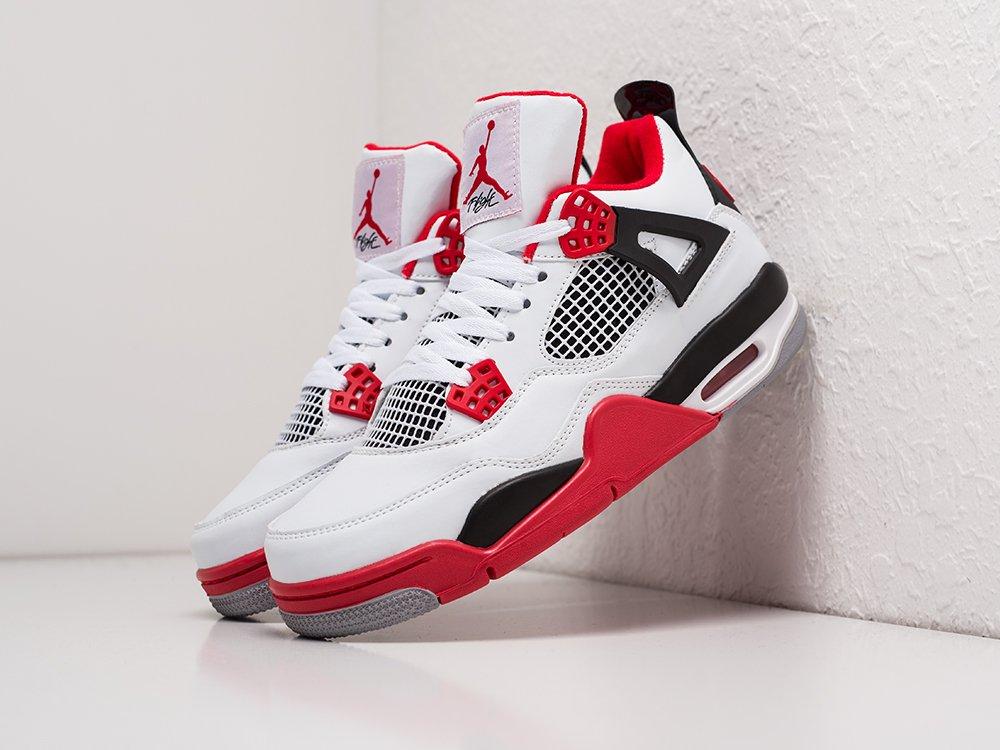 Кроссовки Nike Air Jordan 4 Retro цвет Белый купить по цене 3290 рублей в интернет-магазине outmaxshop.ru с доставкой ☑️