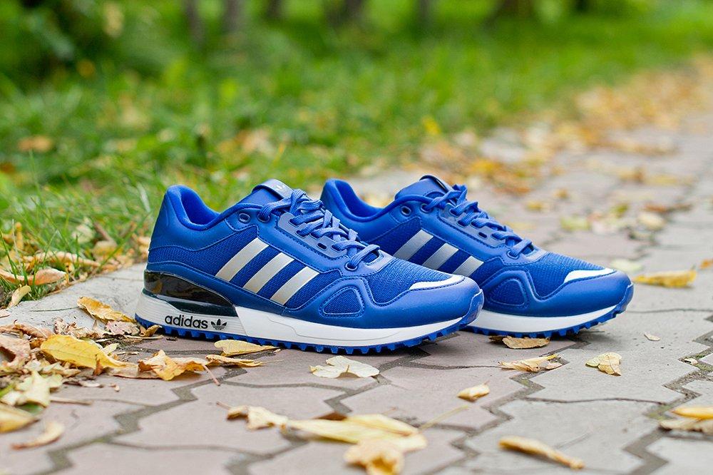 sports shoes edb18 b857b Кроссовки Adidas T-ZX Runner AMR цвет Синий