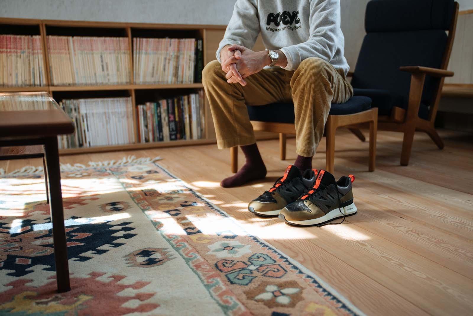 Кроссовки New Balance x Tokyo Design Studio R_C2