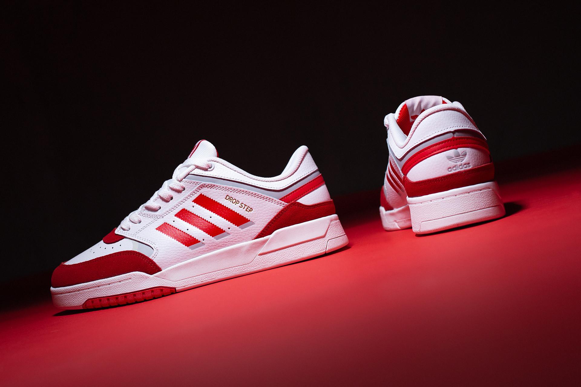 Кроссовки Adidas Drop Step Low